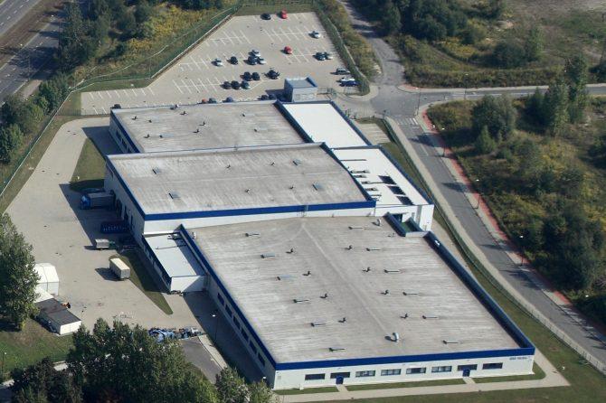 10月稼働予定のSRK-HPの工場予定地