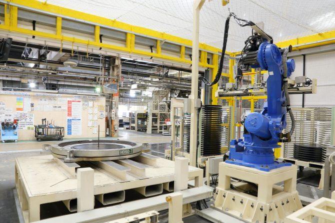 新製法の自動化ライン