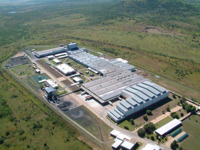 TBタイヤ設備を新設する南アフリカ工場
