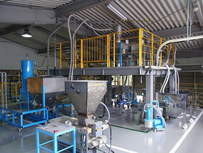 第4工場の内部
