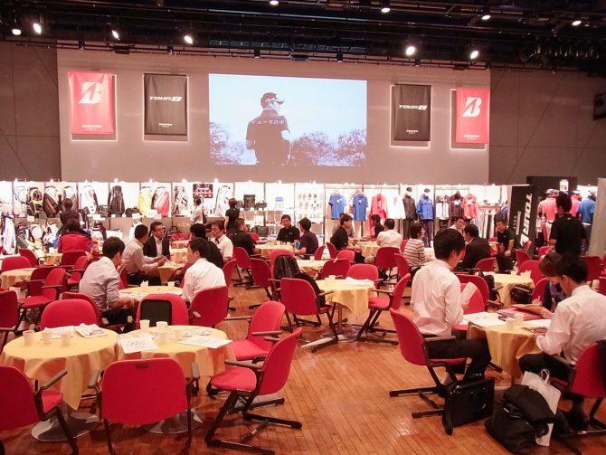 新商品商談会の会場