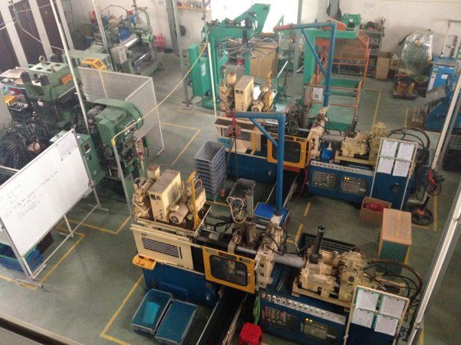 ミナト・ラバー・ベトナムの工場内部